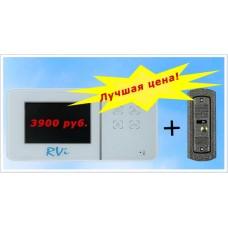 Комплект цветного видеодомофона RVi-VD1 mini