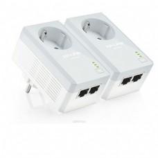 Сетевой адаптер TP- LINK TL-PA4020PKIT до 500 Мбит/с проходной