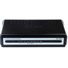 Коммутатор DES-1008A/E, switch 8-port 10/100