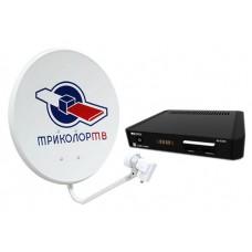 Комплект Триколор на 2 ТВ (31 день) с установкой